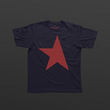 First T-shirt navy/red TITOS star logo
