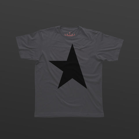First T-shirt pewter/black TITOS star logo