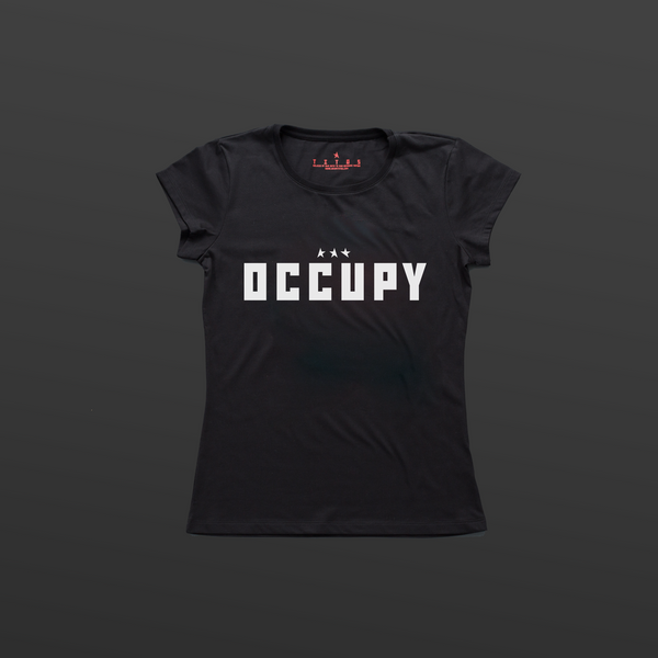 Titos Resist OCCUPY women's t-shirt