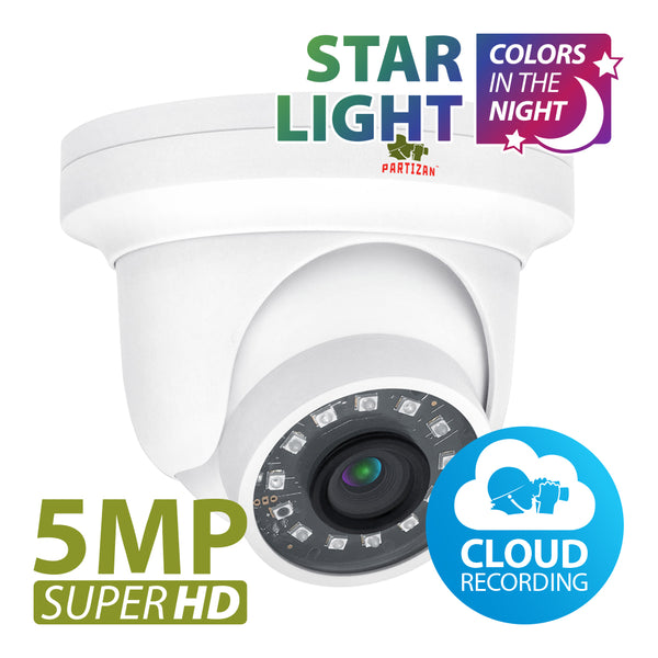 5.0MP IP камера<br>IPD-5SP-IR Starlight 1.0 Cloud