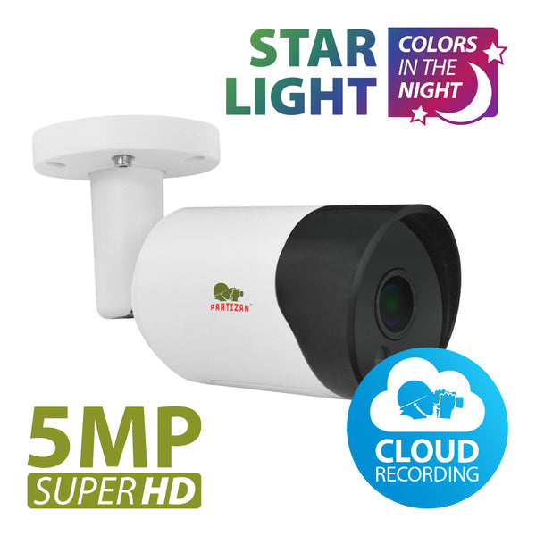 5.0MP IP камера<br>IPO-5SP Starlight 1.0 Cloud