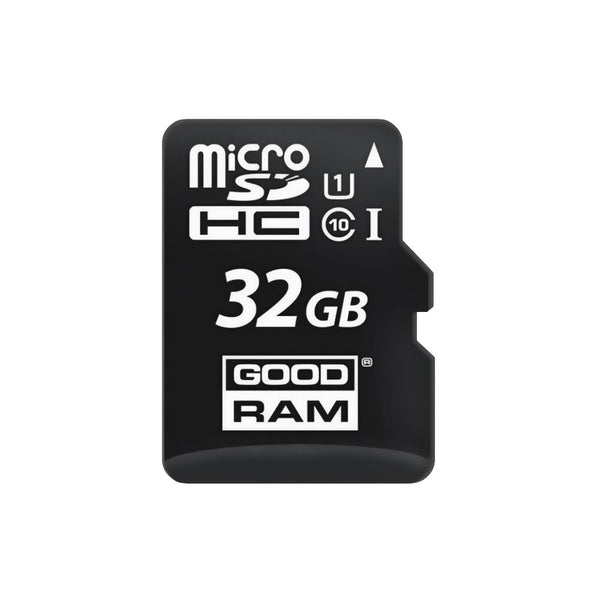 Micro SD card GoodRam 32GB, class 10, с адаптером