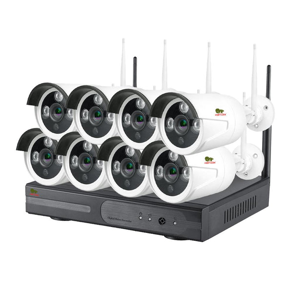 2.0MP Набор для улицы Wi-Fi IP-37<br>8xCAM + 1xNVR (v1.1)