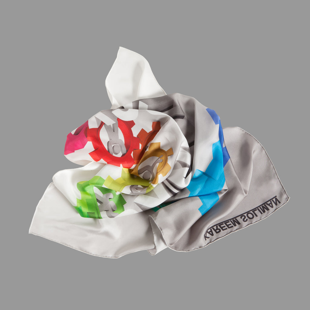 Synergy - Silk Scarf
