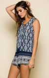 ALOHI SLEEVELESS ROMPER-Clothes, Rompers & Jumpers-Topaze Fashion