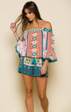 ALBUQUERQUE NIGHTS POM-POM ROMPER-Clothes, Rompers & Jumpers-Topaze Fashion