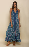 POETIC DREAMS HALTER MAXI-Clothes, Dresses-Topaze Fashion