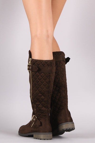 quilted calf quilt riding width hello summer shop off liz trina claiborne boots wide