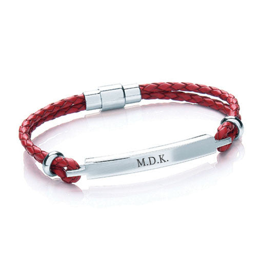 Must Have Bespoke Personalised Leather Bracelet Gifts