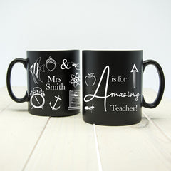 Teacher's 'Amazing Teacher' Mug - Multicoloured - Luxe Gift Store