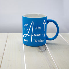 Teacher's Amazing Teacher Multicoloured Mug - Luxe Gift Store - 2