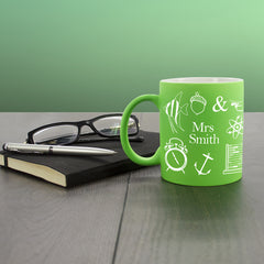 Teacher's Amazing Teacher Multicoloured Mug - Luxe Gift Store - 3