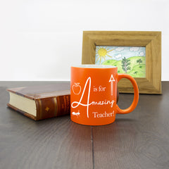 Teacher's Amazing Teacher Multicoloured Mug - Luxe Gift Store - 4