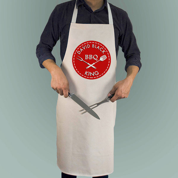 Men's BBQ King Personalised Apron