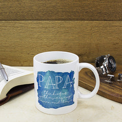 Coastal Watercolour Personalised Mug - Luxe Gift Store