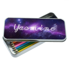 Kid's Cosmic Galaxy Personalised Pencil Case - Luxe Gift Store