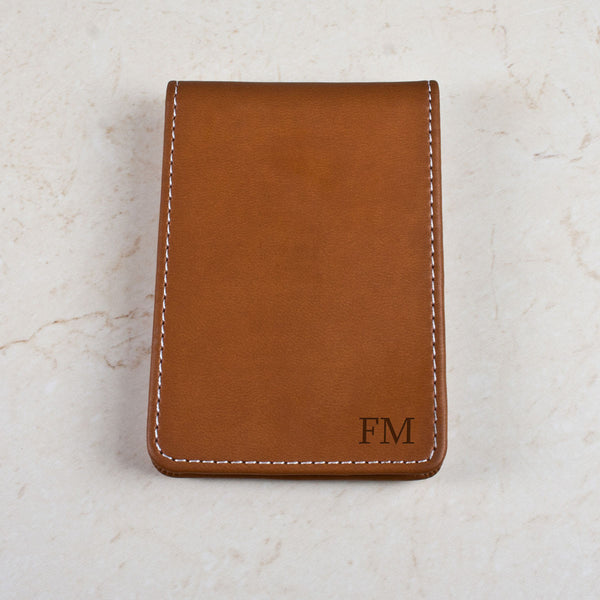 Leather Personalised Credit Card Holder
