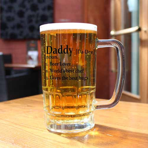 Definition Personalised Beer Glass Tankard