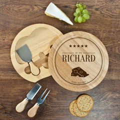 Extra Mature Personalised Cheese Board Set - Luxe Gift Store