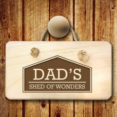 Men's Favourite Space Personalised Wooden Sign - Luxe Gift Store