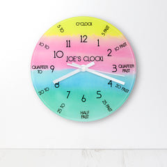 I Can Tell The Time! Personalised Wall Clock - Luxe Gift Store