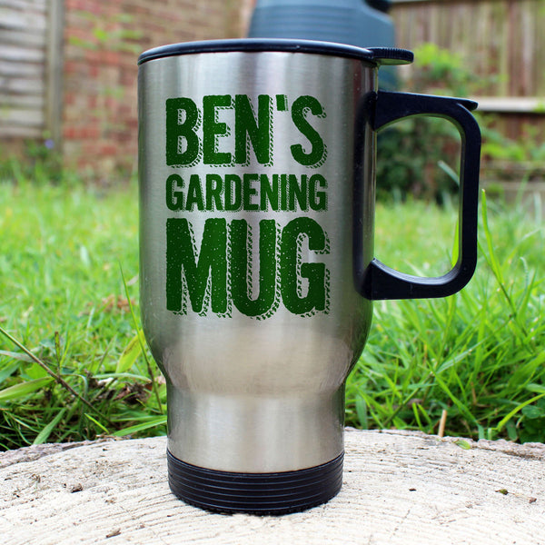My Gardening Personalised Mug