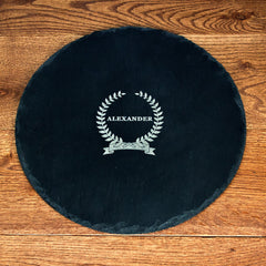 Name Of Honour Personalised Round Slate Cheese Board -
