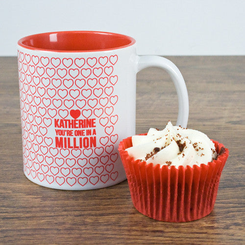 'One In A Million' Personalised Romantic Mug