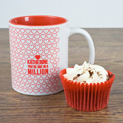 'One In A Million' Personalised Romantic Mug - Luxe Gift Store