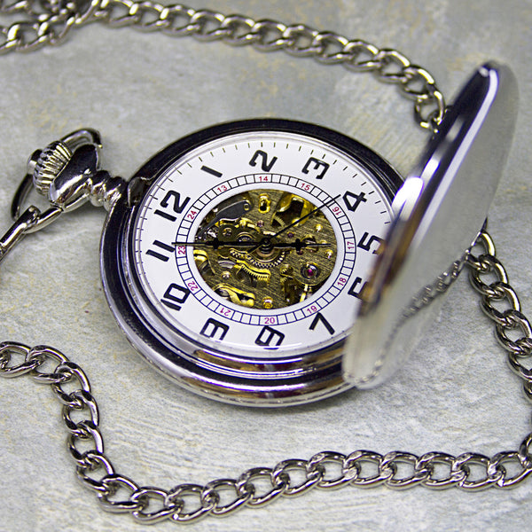 Men's Personalised Heritage Pocket Watch