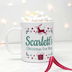 Christmas Eve Personalised Mug - Luxe Gift Store