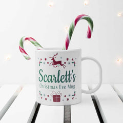 Christmas Eve Personalised Mug