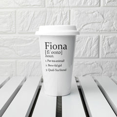 Your Definition Personalised Ceramic Eco Cup - Luxe Gift Store