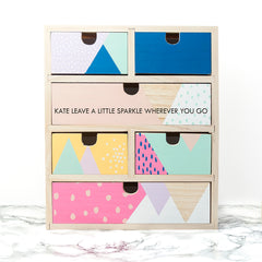 Geometric Personalised Accessory Drawers - Luxe Gift Store