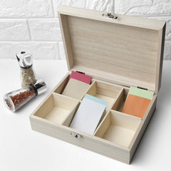 Recipe Personalised Box - Orchard Design
