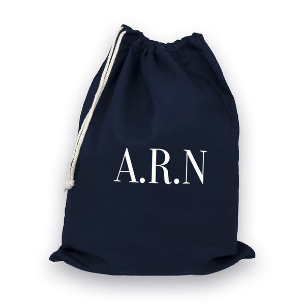 Men's Personalised Navy Boot Bag