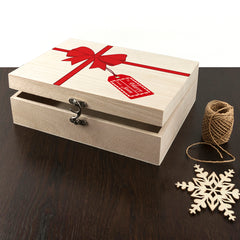 All Wrapped Up Christmas Eve Personalised Box - Luxe Gift Store