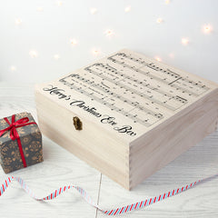 Have Yourself A Very Merry Christmas Eve Personalised Box - Luxe Gift Store