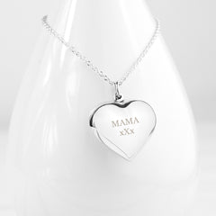 Personalised Cherish Heart Necklace - Luxe Gift Store