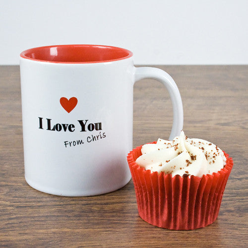 'I Love You' Personalised Romantic Mug