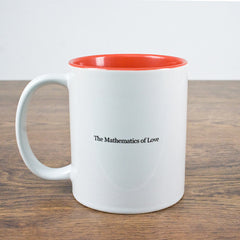 'Mathematics Of Love' Personalised Mug - Luxe Gift Store