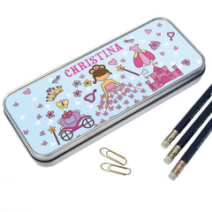 Pretty Princess Personalised Pencil Case - Luxe Gift Store