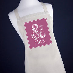 Married Couple's 'Mr & Mrs' Apron - Luxe Gift Store