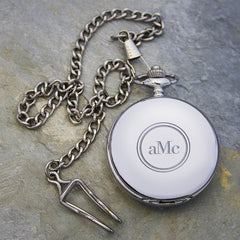 Men's Personalised Heritage Pocket Watch - Luxe Gift Store - 3