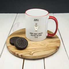 Personalised 'How Much You Mean To Me' Mug - Luxe Gift Store