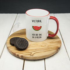 Mug Personalised 'You Are One In A Melon' - Luxe Gift Store