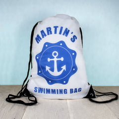 Kid's Personalised Drawstring Bag - Boys - Luxe Gift Store