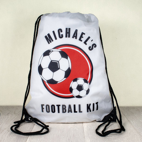 Kid's Personalised Drawstring Bag - Boys