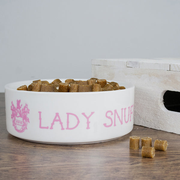 Cat's Personalised 'Lady Cat' Bowl