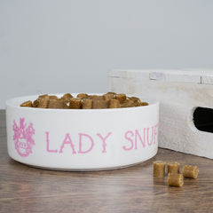 Cat's Personalised 'Lady Cat' Bowl - Luxe Gift Store